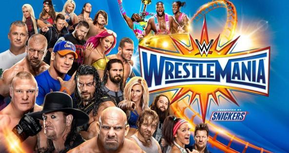 Wrestlemania 2017 Logo