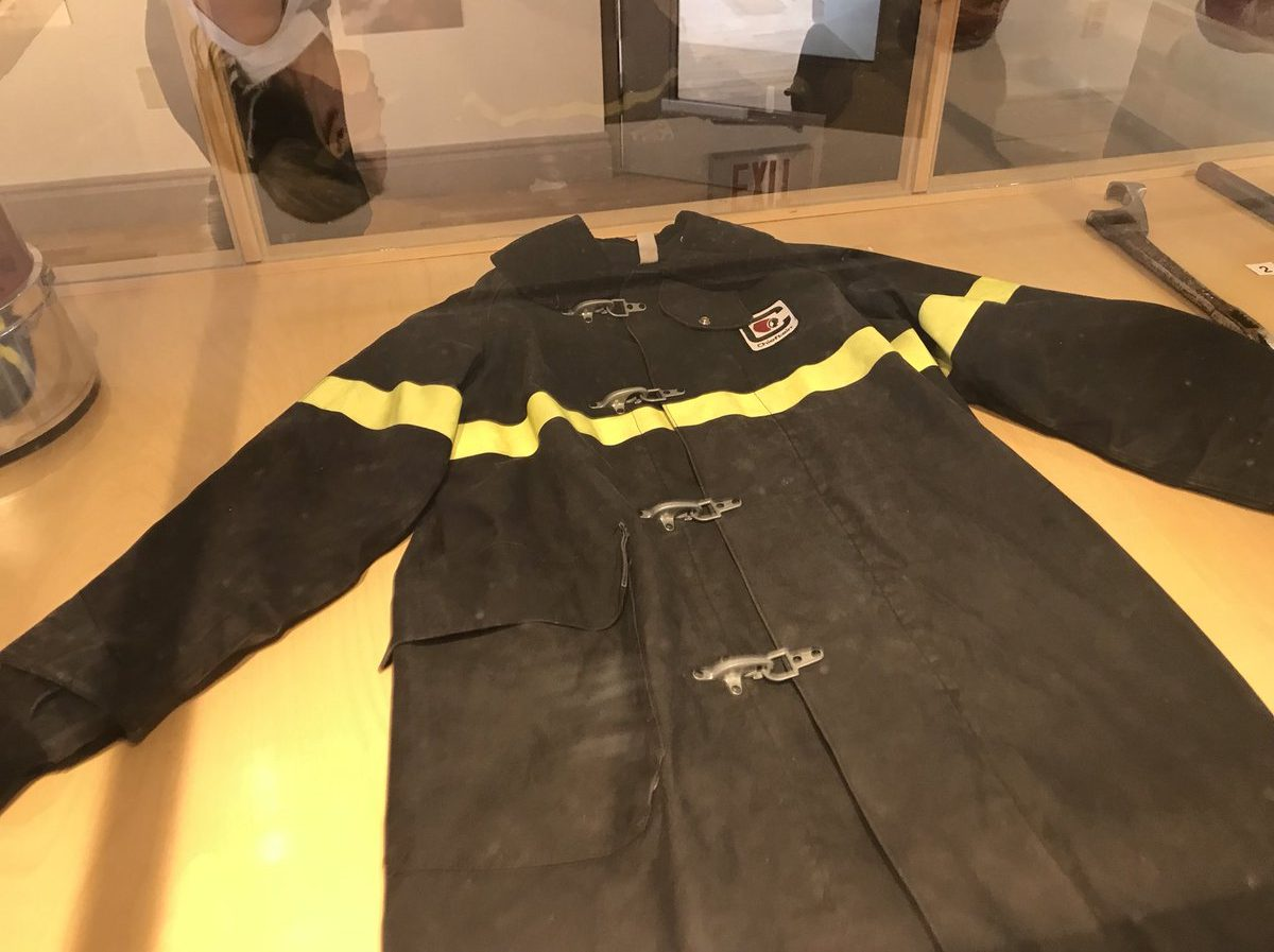 Exhibit highlights North Bay Fire fighting history