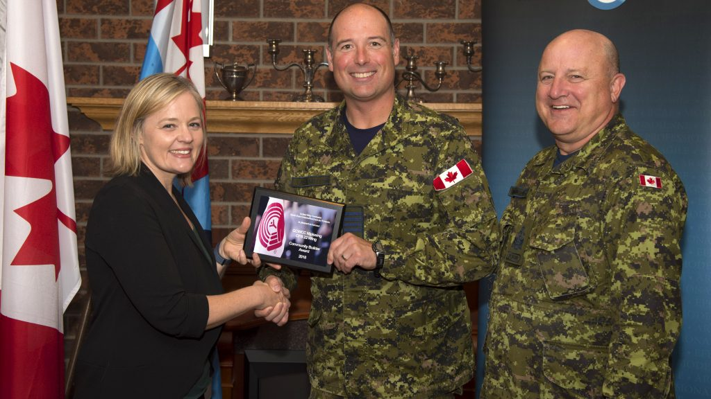 Recognition for 22 Wing - Country 600
