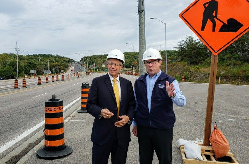 Fedeli announces two highway construction projects - Country 600